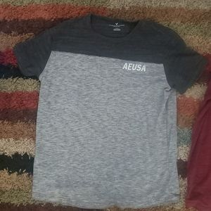 American Eagle Outfitters Shirts - 2LOT AE TSHIRTS SIZE LARGE